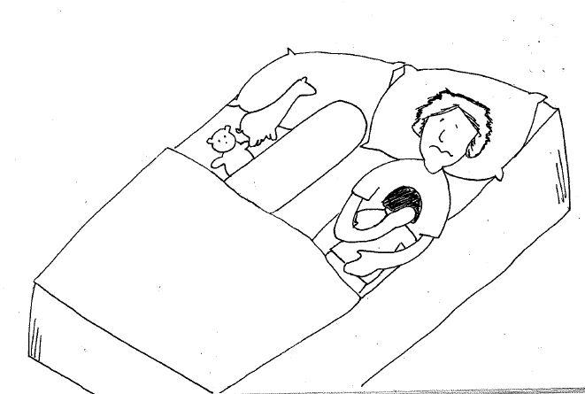 CoSleeping eczema cartoon