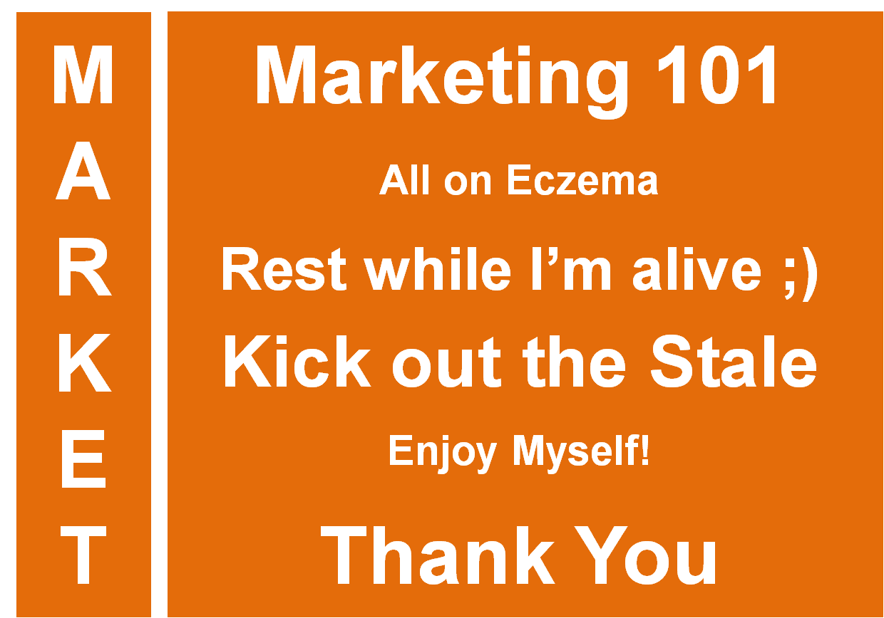 Marketing is my top priority!