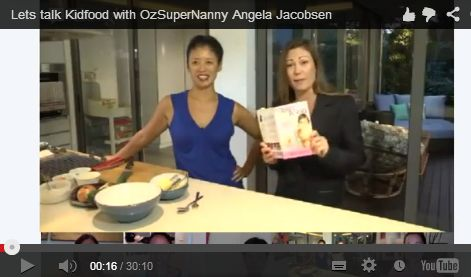 My second hangout with Angela Jacobsen on Baby Food!