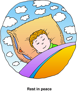 Praying for good night sleep for our children with eczema