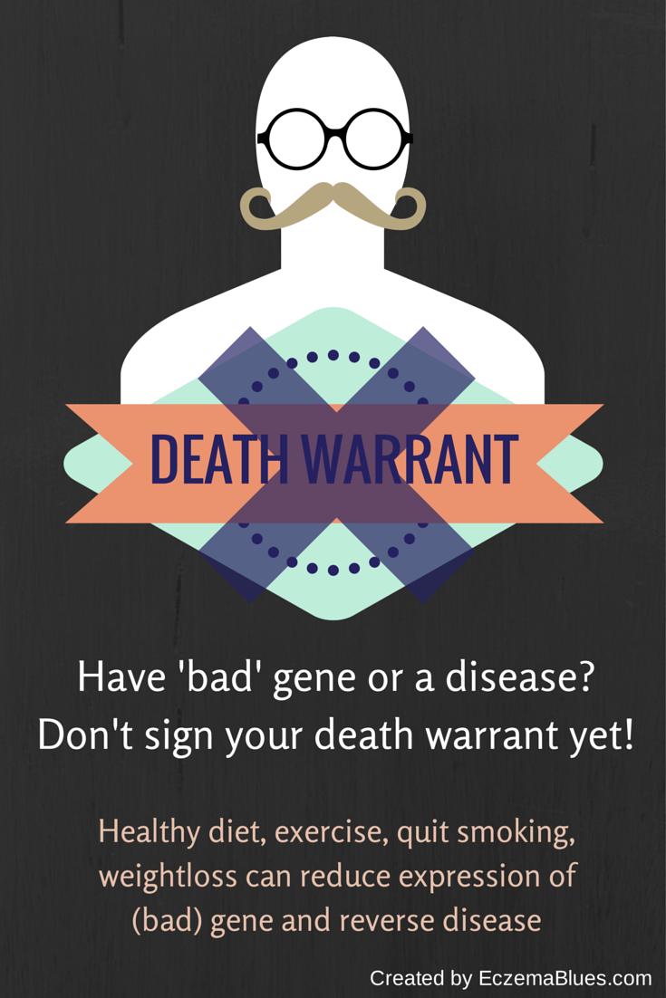 pigenetics Disease Infographic EczemaBlues