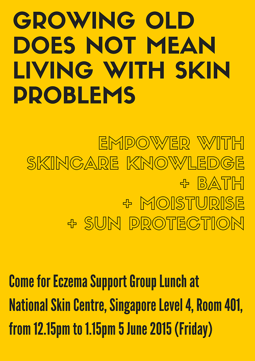 Eczema Support Group Lunch Skin Aging and Care