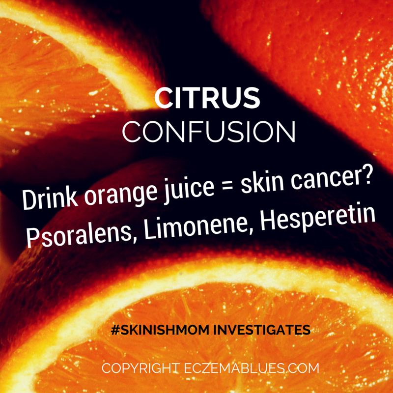 Citrus Confusion - Is it causing or protecting against skin cancer?