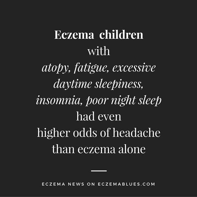 Childhood Eczema and Headaches