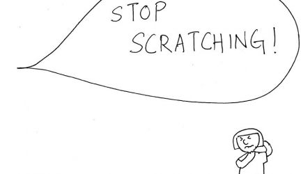 Why Scratching Feels So Good but is So Bad for your child