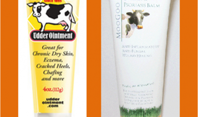 Alternative treatment – Udder Cream as Moisturizer for Eczema